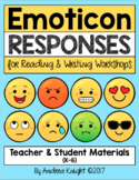 Reading and Writing Comprehension (Emoticon Responses)