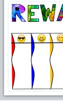 Emoticon Reward Chart