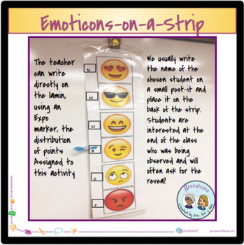 Non-Verbal Classroom Management: Emoticons-on-a-Strip to Assess Expectations.