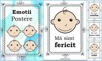 Emotii - Postere -  limba romana