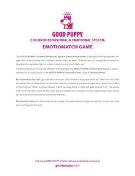 Emotimatch . Child Behavioral & Emotional Tools by GOOD PUPPY