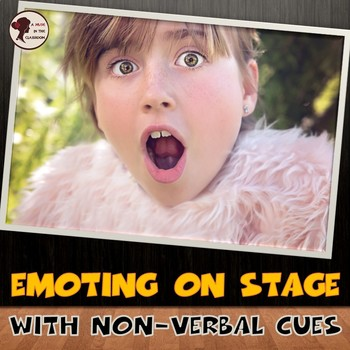 Emoting on Stage with Non-verbal Cues