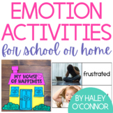 Emotion Activities {Social Emotional Learning for School a