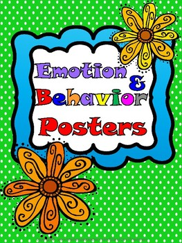 Special Education: Emotion & Behavior Posters Process #1