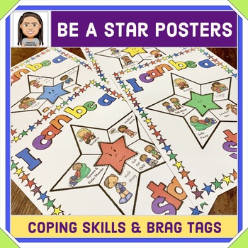 Managing Emotions & Coping Skills Posters & Brag Tags
