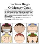 Emotion Bingo and Memory