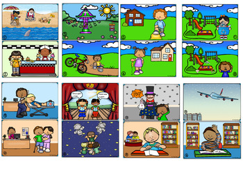 Emotion Cards with Supportive Scene Cards ~ SET 1