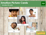 Emotion Picture Cards - Identify and Express Children's Emotions