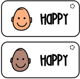 Emotion Cards - Boardmaker (Happy, Sad, Angry)