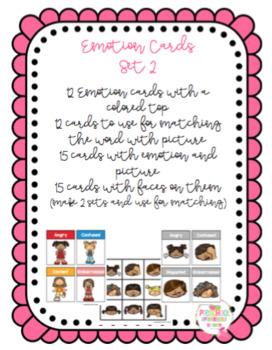 Emotion Cards Set 2