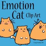 Emotion Cat Clip Art