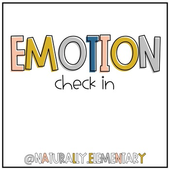 Emotion Check In
