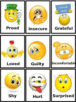 Emotion Communication Cards, Autism, PECS