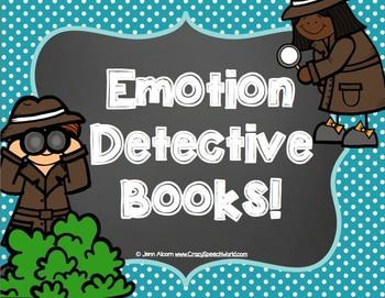 Emotion Detectives Book for Social Skills!