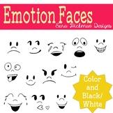 Emotion Faces Clipart