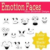 Emotion Faces Clipart