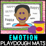 Emotions: Playdough Mats - No Prep Activity Centre  - Self Regulation/Feelings
