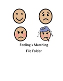 Emotion File Folder Game for Students with Autism