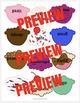 Emotion Identification Ice Cream Cones Game for School Psy
