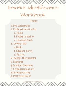 Emotion Identification Workbook