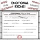 Emotion Idioms:  Posters and Activities