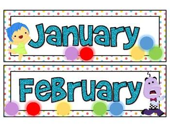 Emotion Inspired Calendar Set