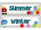 Emotion Inspired Seasons Labels