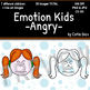 Emotion Kids - ANGRY - Facial Expressions Clipart
