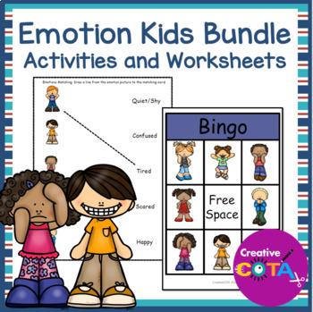 Emotion Kids Activity Set