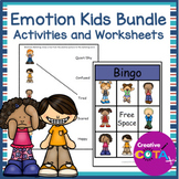 Emotion Kids Worksheets and Activities