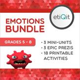 Emotion Management Bundle: Triggers, Negative Emotions, and Rejection