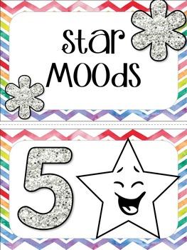 Emotion Management Mood Clip Chart