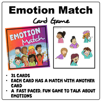 Emotion Awareness   Match It Card Game