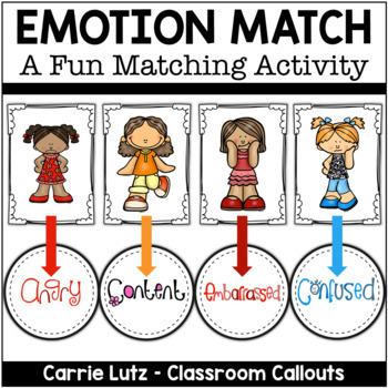 Emotion Match-Up & How You Doin'? Activities