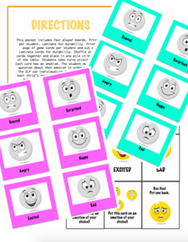 Emotion Match Up : A Game For Speech Therapy/Social Skills