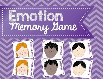 Emotion Memory Game