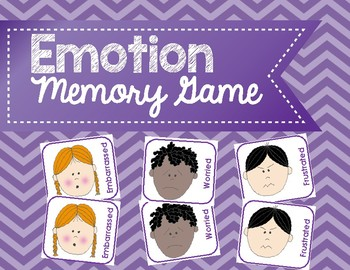 Emotion Memory Game