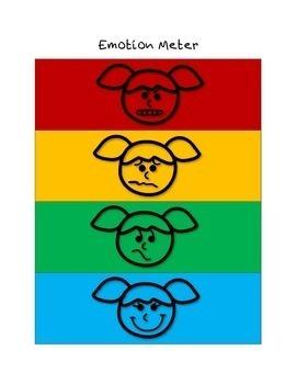 Emotion Meters {Social Skills Freebie}