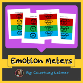 Emotion Meters {Social Skills Freebie}