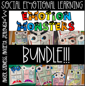 Emotion Monsters BUNDLE!