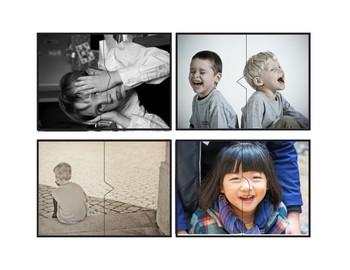 Identifying Feelings: Social Emotional Photo Puzzle Cards