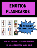 Emotion Picture Flashcards: Teaching & Assessment Resource