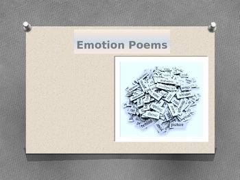 Emotion Poems