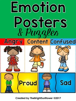 Emotion Posters & Puzzles