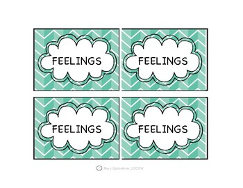Emotion Puzzle Cards
