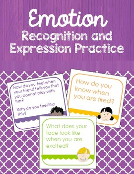 Emotion Practice Set - Recognition and expression