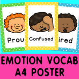 Emotion Posters x 23 - Self-Regulation Feelings