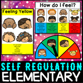 Self regulation Emotions: Daily Check In posters, desk strips