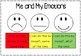 Self Regulation: Tracking Tool/Assessment - Emotions Feelings