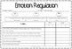 Self Regulation: Tracking Tool/Assessment Matrix- Emotions Feelings